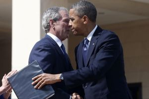 Obama destaca reunión con antecesores