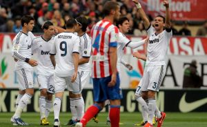 Real Madrid prolonga mala racha colchonera en el 'derbi' (Fotos)