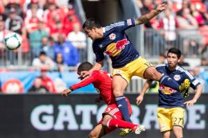 Red Bulls vencedor a domicilio