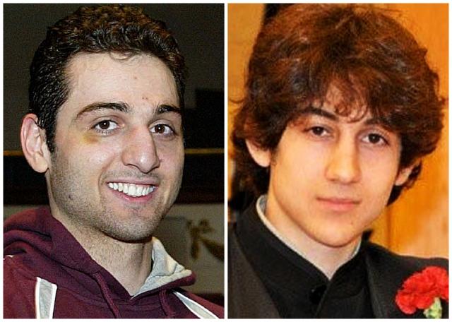 Tamerlan Tsarnaev, de 26 años, izq., y su hermano Dzhokhar, 19, fueron señalados como los autores del ataque en Boston.