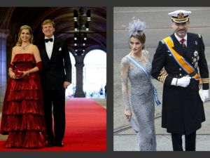 Princesa Letizia y reina Máxima repiten vestidos del 2008
