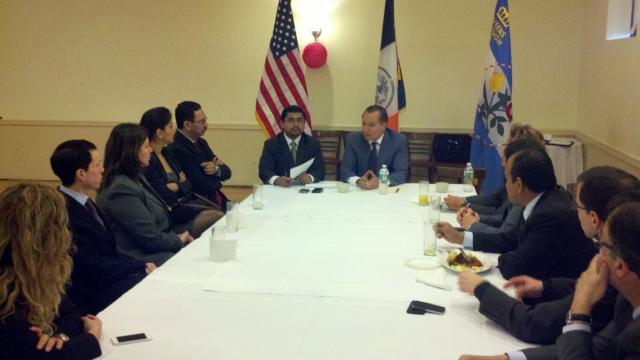 Cónsules en defensa de sus ciudadanos en NY