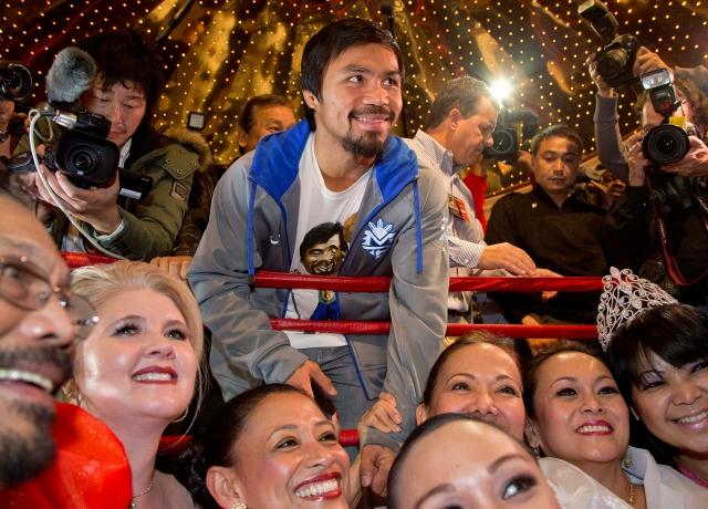Manny Pacquiao vuelve frente a Brandon Ríos