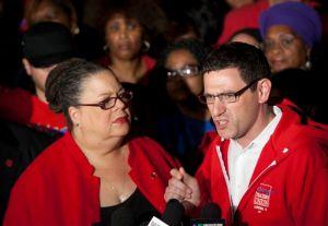 Tres días de marcha por el cierre de 54 escuelas en Chicago