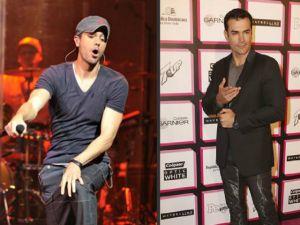 """Enrique Iglesias da """"microfonazo"""" a David Zepeda en TV"""