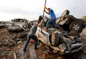 Obama declara zona de desastre en Oklahoma (video)