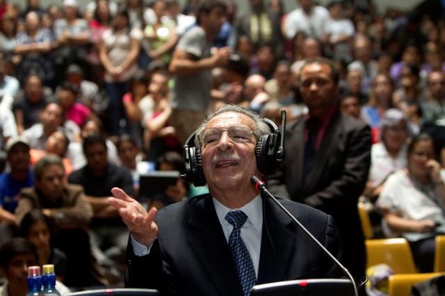 Misterio tras fallo en caso Ríos Montt