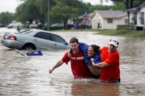 Texas bajo las aguas