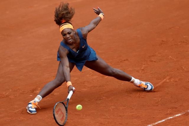 Serena debuta en francés