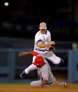 Dodgers rompen la  racha de Angels