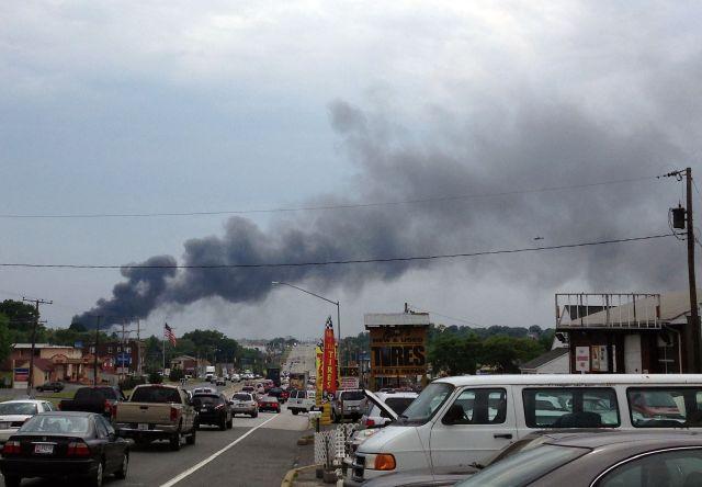 Explosión de tren en Maryland se registra tras incidente en Connecticut