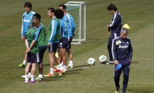 Real Madrid prepara último partido con Mourinho