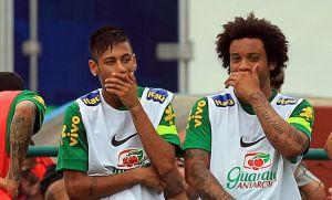 Marcelo quería a Neymar en el Real Madrid