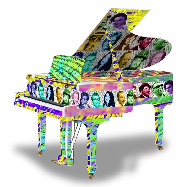 Pianos decorados invaden calles de NYC