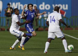 Sufren catrachos ante Israel: 2-0