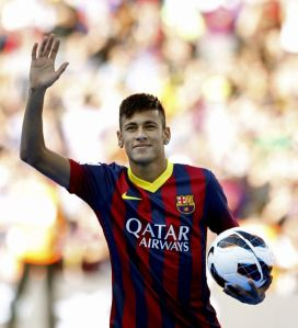Neymar enloquece a Barcelona