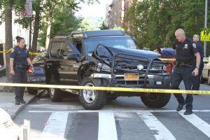 Niña de 3 años es atropellada en Manhattan (fotos)