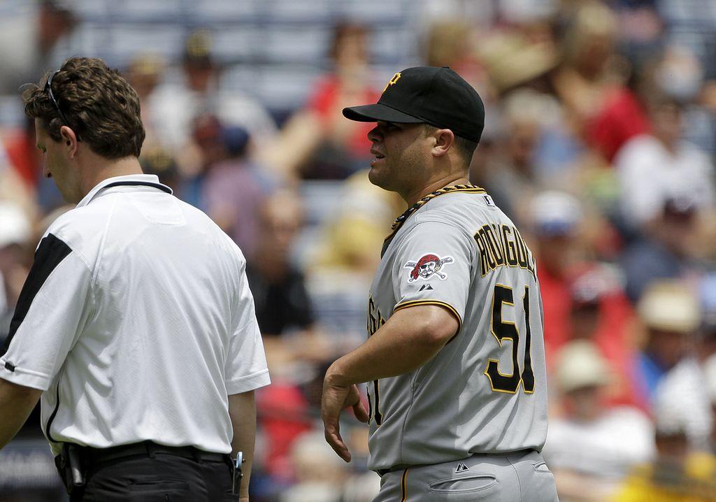 Dominicano Rodríguez es baja para Pittsburgh