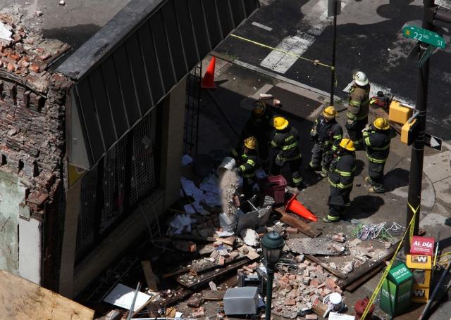 Un muerto y varios heridos deja  derrumbe en Filadelfia