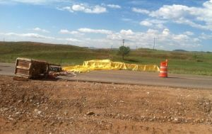 Cinco heridos en choques de globos en Denver