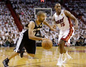 Heat da paliza a los Spurs