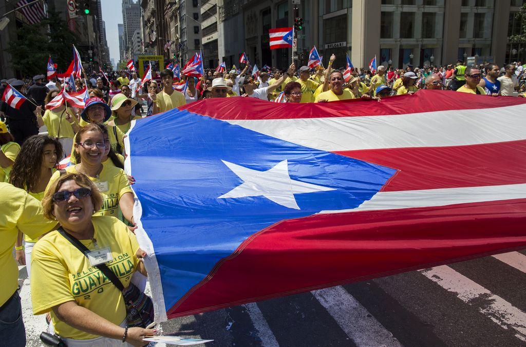 Desfile boricua prende la rumba en la Quinta Avenida (fotos)