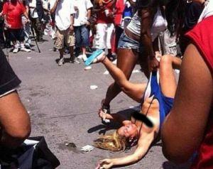 Supuesta pelea de mujeres en desfile en NY recorre las redes