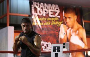 'JuanMa' López prepara pelea en Texas