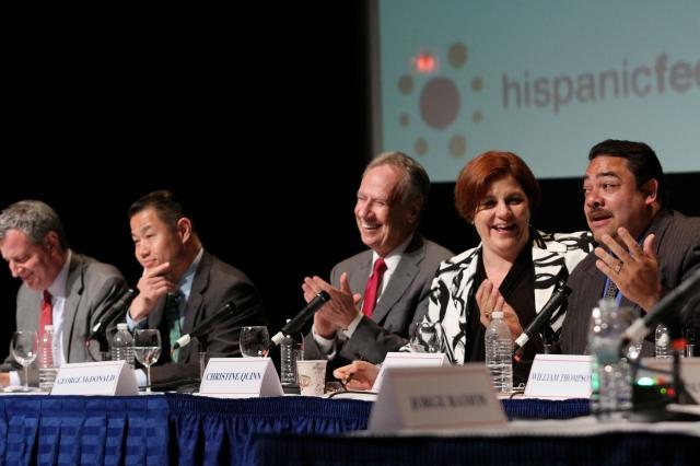 Candidatos a la Alcaldía de NYC exponen su agenda para hispanos (fotos y video)