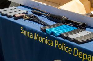 Pistolero de Santa Mónica construyó su rifle de asalto