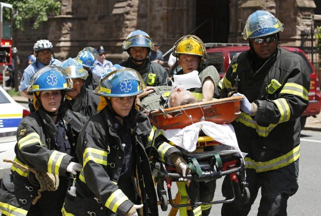 Se suicida inspector de edificio desplomado en Filadelfia