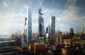 NYC muestra rascacielos para el barrio Hudson Yards