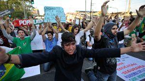 Anuncian gran manifestación en Brasil durante la Copa