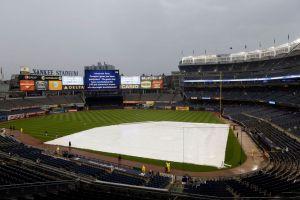 Lluvia arruina regreso de Dodgers a Yankee Stadium