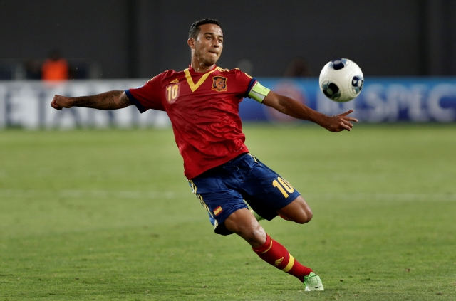 Thiago lleva a España al título Sub-21