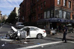 Arrestado el autor de accidente en East Village (fotos)