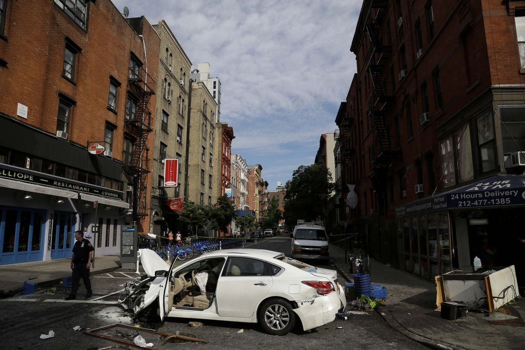 Accidente con 8 heridos en el East Village