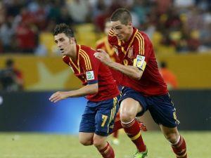 España consigue goleada histórica; 10-0 a Tahití (Fotos)