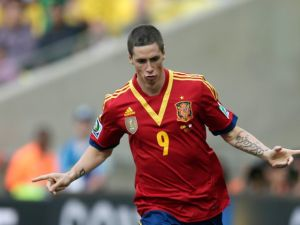 España vence 8-0 a Tahití, al segundo tiempo
