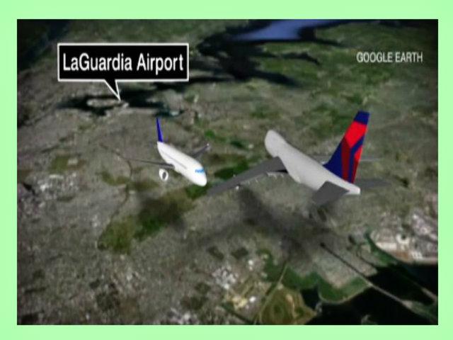 FAA investiga por qué aviones casi chocan sobre NYC