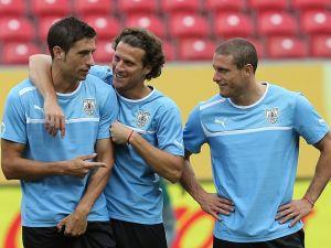La selección 'charrúa' por su pase a semifinales en la Confederaciones