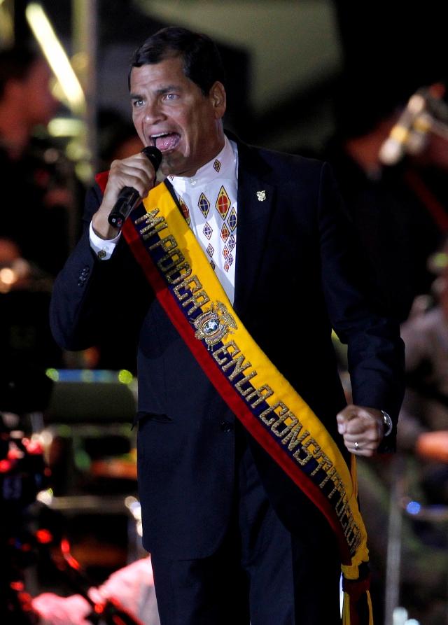 Correa: no soportaremos presiones