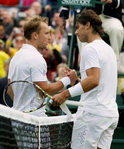 Debut y despedida para Rafael Nadal