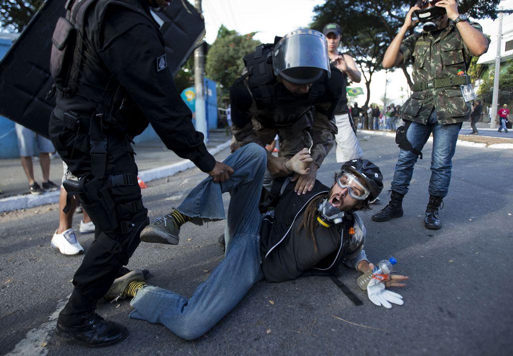 Protestas en Brasil ya dejan cinco muertos (fotos)