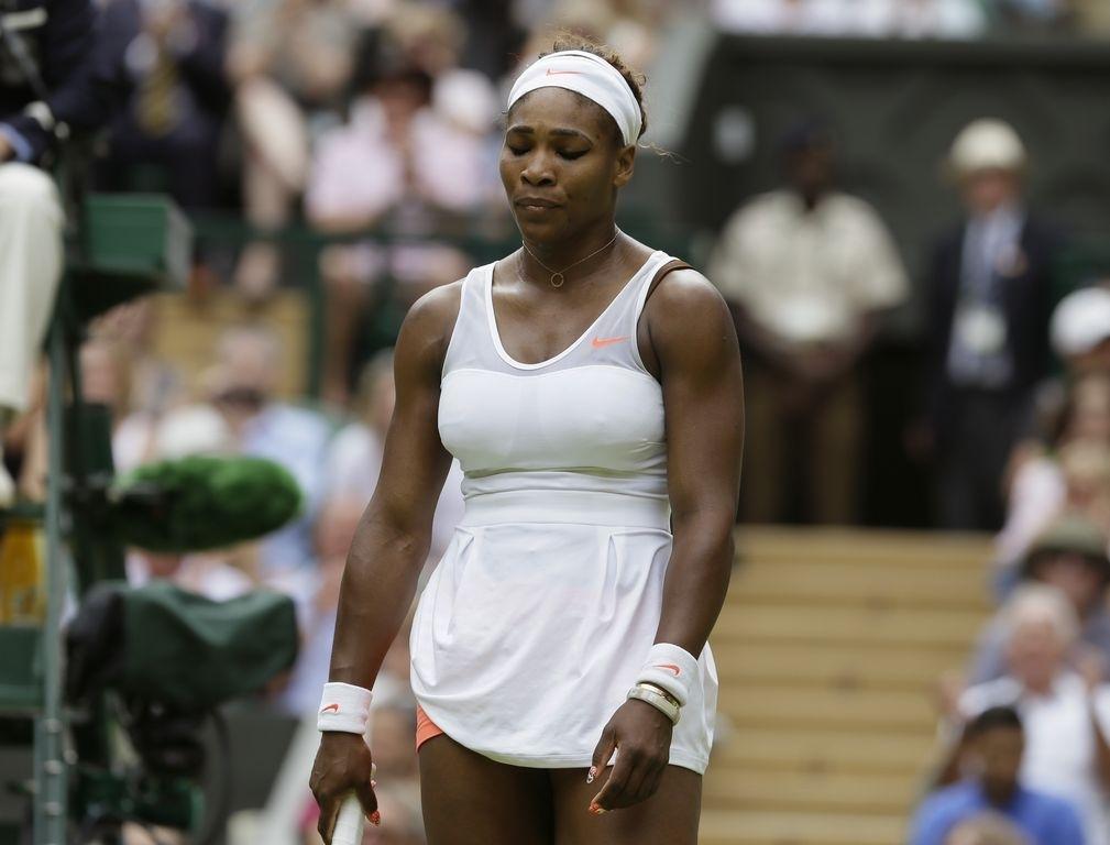 Serena Williams es la quinta estrella fuera de Wimbledon