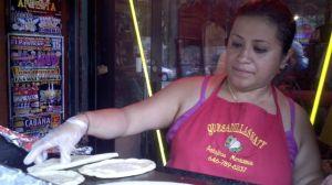La Reina de las quesadillas impera en El Barrio