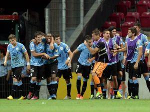 Uruguay sub-20, rival de España en los cuartos de final