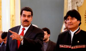"""Secuestro"" de Evo indigna a sus colegas latinoamericanos"