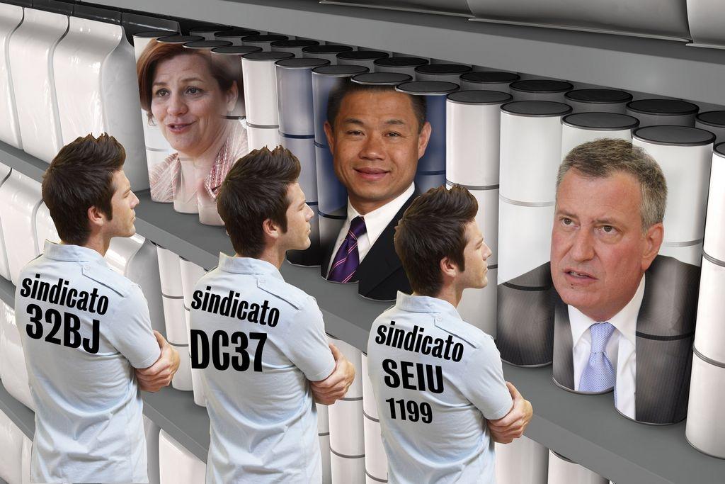 Apoyo de poderosos no garantiza Alcaldía de NYC