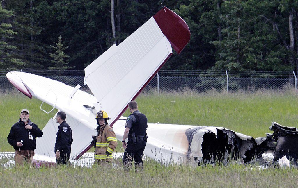 Diez muertos al estrellarse un avión en Alaska